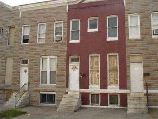 604 Appleton St, Baltimore, MD 21217