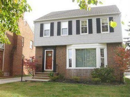 3842 Faversham Rd, University Heights, OH 44118