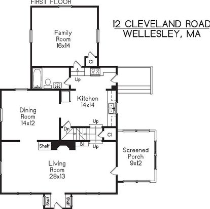 12 Cleveland Rd, Wellesley, MA 02481