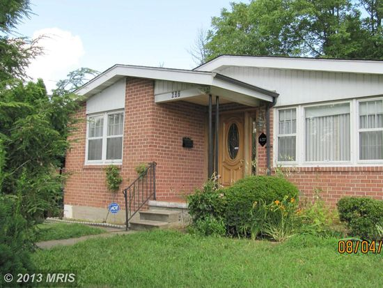 637 Leafydale Ter, Baltimore, MD 21208