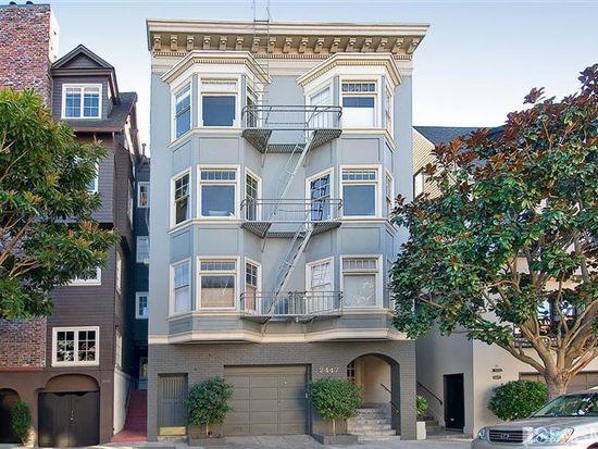 2447 Vallejo St APT 3, San Francisco, CA 94123