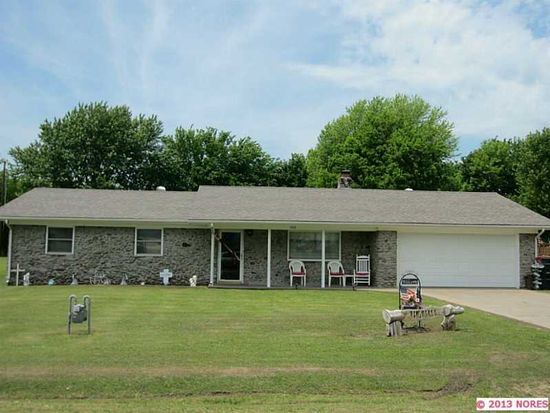 308 7TH Ave, Warner, OK 74469