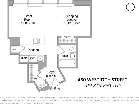 450 W 17th St APT 1116, New York, NY 10011