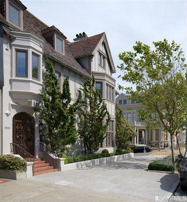 2500 Divisadero St, San Francisco, CA 94115