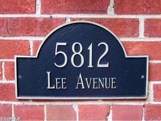 5812 Lee Ave, Richmond, VA 23226