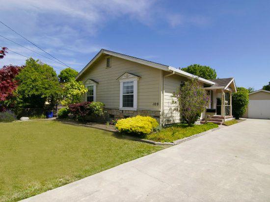 109 Plateau Ave, Santa Cruz, CA 95060