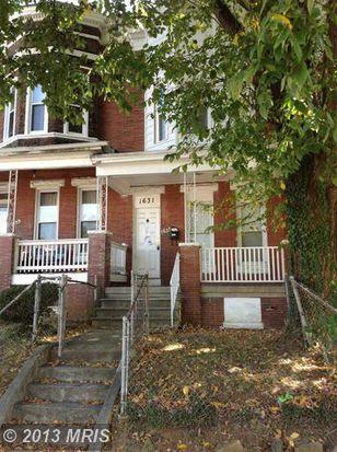 1631 N Rosedale St, Baltimore, MD 21216