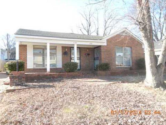 1631 Galveston St, Memphis, TN 38114