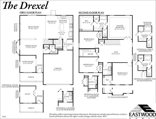 Drexel - Sunnybrook Estates by Eastwood Homes
