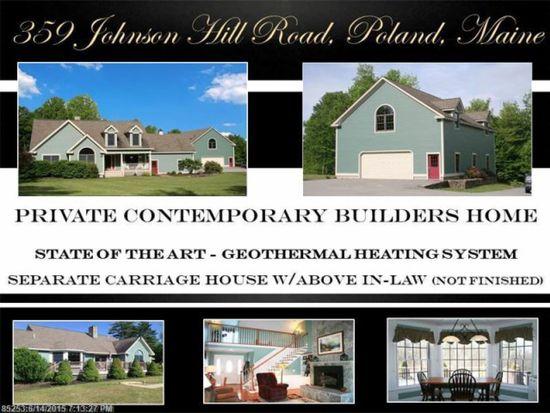359 Johnson Hill Rd, Poland, ME 04274