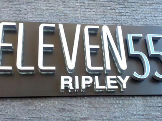 Eleven55 Ripley, 1 Bedroom, 1 Bath 697 sq. ft.