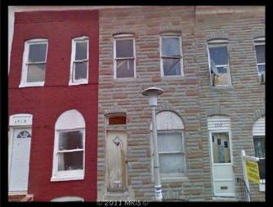 1713 N Regester St, Baltimore, MD 21213