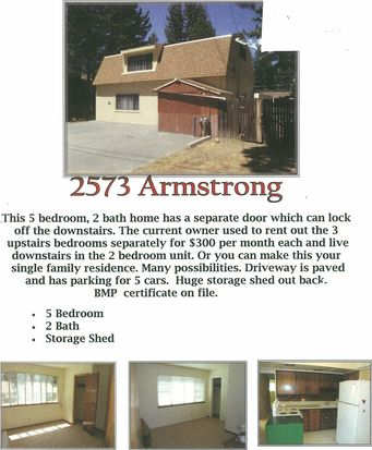2573 Armstrong Ave, South Lake Tahoe, CA 96150