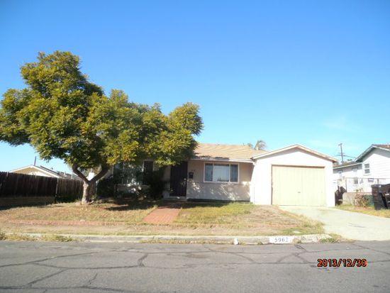 5962 Winchester St, San Diego, CA 92139
