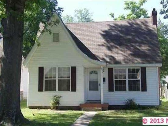 1617 Hayes St, Muskogee, OK 74403