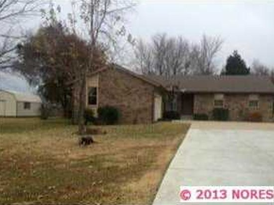 1546 E North Ridge Dr, Vinita, OK 74301