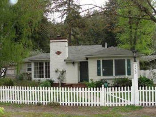 255 Hunt Way, Ben Lomond, CA 95005