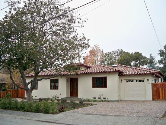 3780 El Centro St, Palo Alto, CA 94306
