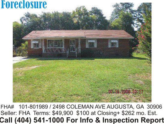 2498 Coleman Ave, Augusta, GA 30906