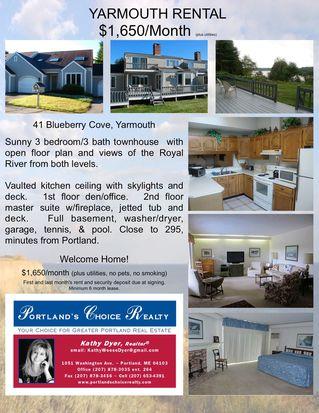 41 Blueberry Cv, Yarmouth, ME 04096