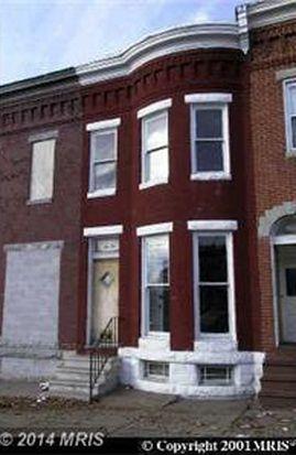 1626 N Fulton Ave, Baltimore, MD 21217