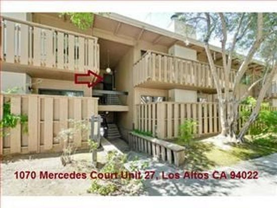 1070 Mercedes Ave APT 27, Los Altos, CA 94022