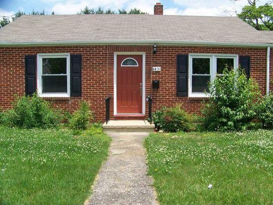 4831 Eden Dr NW, Roanoke, VA 24012