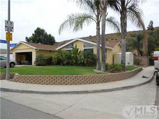 9784 Medina Dr, Santee, CA 92071