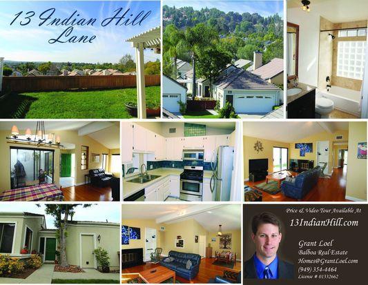 13 Indian Hill Ln, Laguna Hills, CA 92653