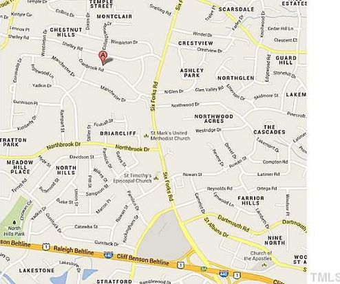 802 Cranbrook Rd, Raleigh, NC 27609