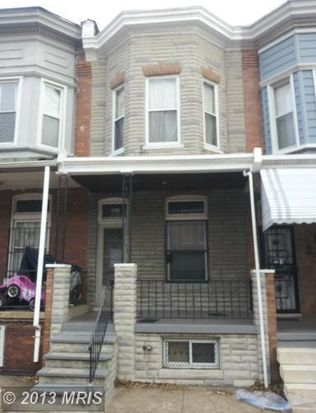 1703 N Monroe St, Baltimore, MD 21217