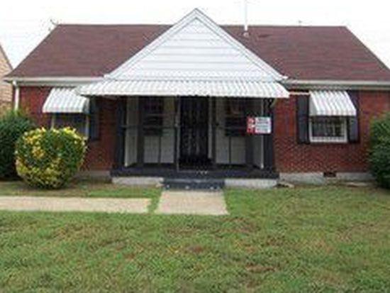 1598 N Michelle Cir, Memphis, TN 38107