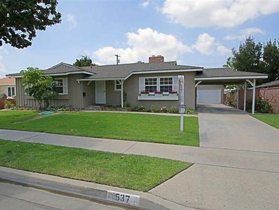 537 S Haven Dr, Anaheim, CA 92805