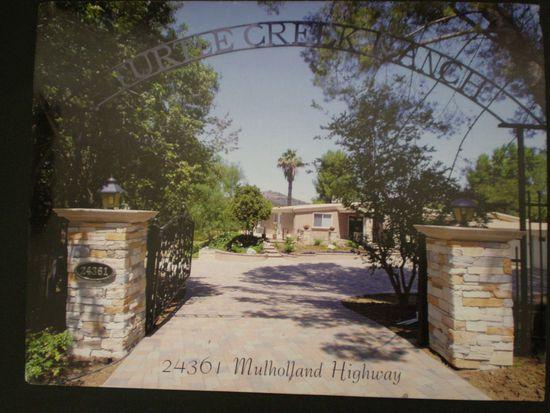 24361 Mulholland Hwy, Calabasas, CA 91302