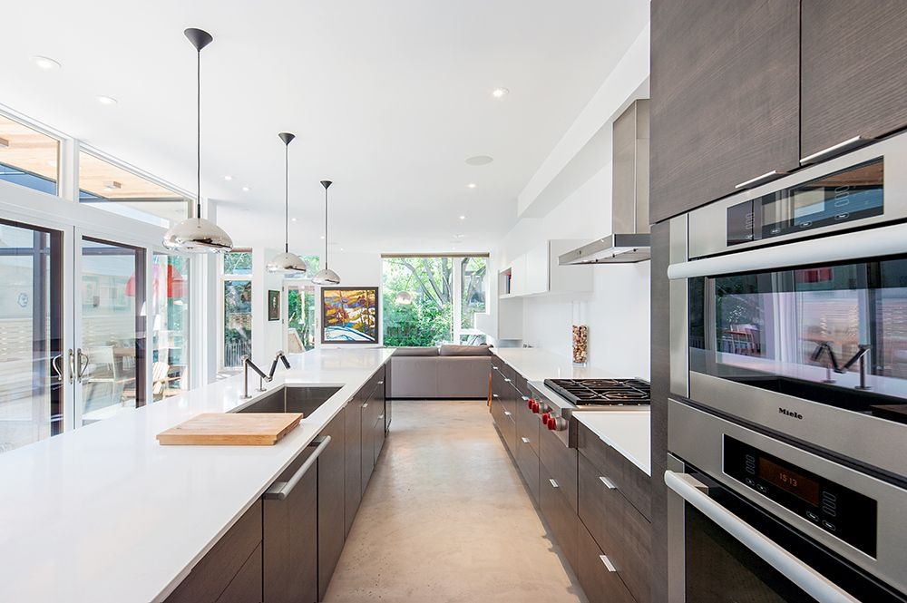 Modern Kitchen With European Cabinets By Marvin Windows