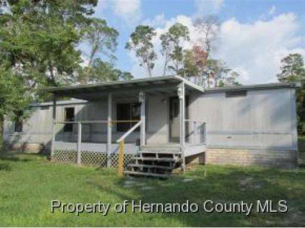 3 bed 2 bath Mobile / Manufactured at 6470 Standish St Weeki Wachee, FL, 34613 is for sale at 80k - 1 of 10