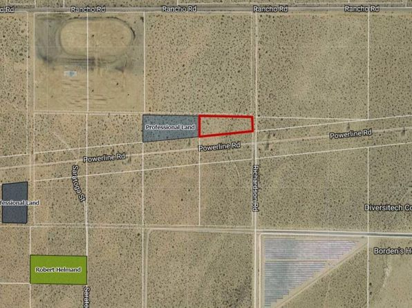 null bed null bath Vacant Land at  Richardson Rd Adelanto, CA, 92301 is for sale at 138k - google static map