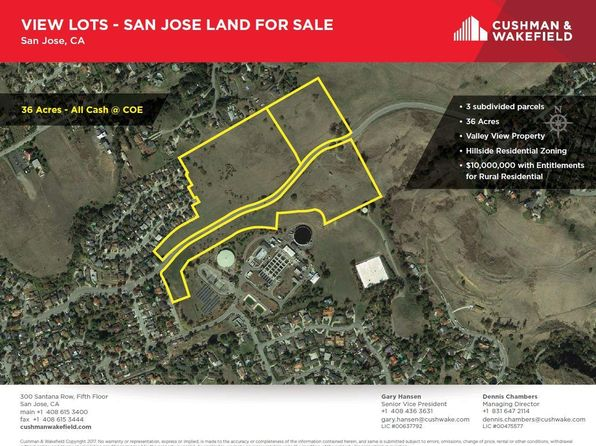 null bed null bath Vacant Land at 3640 3810 Suncrest Ave San Jose, CA, 95132 is for sale at 3.60m - 1 of 10
