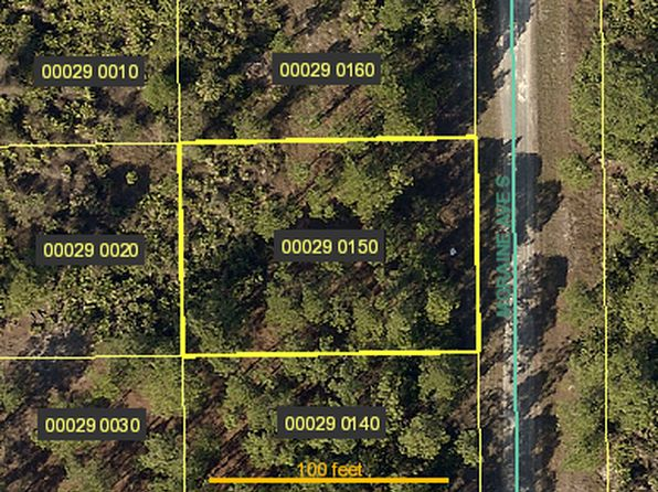 null bed null bath Vacant Land at 182 MORAINE AVE S LEHIGH ACRES, FL, 33974 is for sale at 4k - google static map