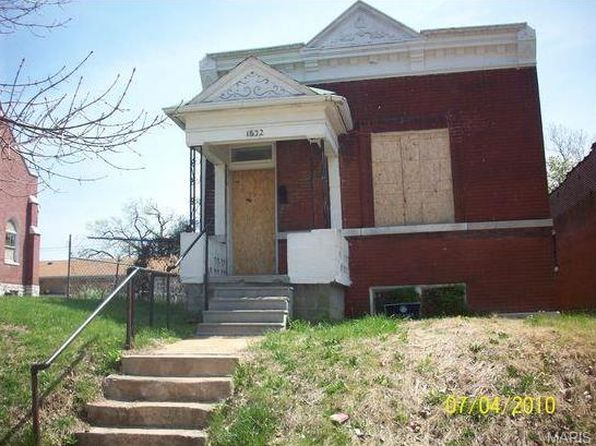 3 bed 1 bath Single Family at 1632 Semple Ave Saint Louis, MO, 63112 is for sale at 10k - 1 of 3