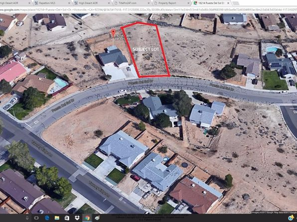 null bed null bath Vacant Land at Undisclosed Address Victorville, CA, 92395 is for sale at 13k - 1 of 3