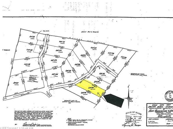 null bed null bath Vacant Land at 33 Spruce Cir Dallas Plt, ME, 04970 is for sale at 35k - google static map