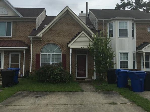 2 bed 2 bath Townhouse at 410 Troon Virginia Beach, VA, 23462 is for sale at 195k - 1 of 3