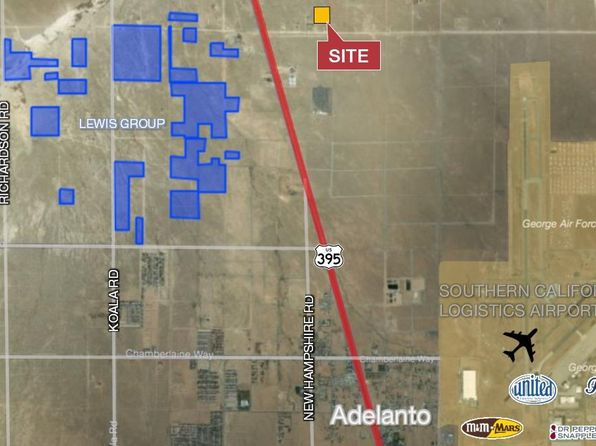 null bed null bath Vacant Land at Undisclosed Address Adelanto, CA, 92301 is for sale at 50k - 1 of 2