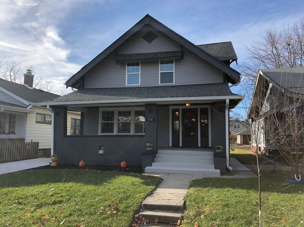 3 bed 3 bath Single Family at 718 N Dequincy St Indianapolis, IN, 46201 is for sale at 170k - 1 of 5