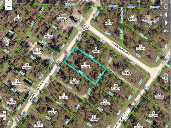 null bed null bath Vacant Land at  Snowy Egret Ave Royal Highlands Blk441 Lot2 Weeki Wachee, FL, 34614 is for sale at 9k - google static map