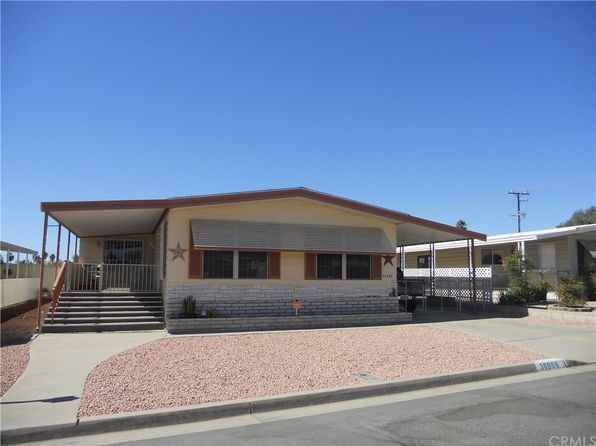 3 bed 2 bath Mobile / Manufactured at 30986 SILVER PALM DR HOMELAND, CA, 92548 is for sale at 130k - 1 of 49