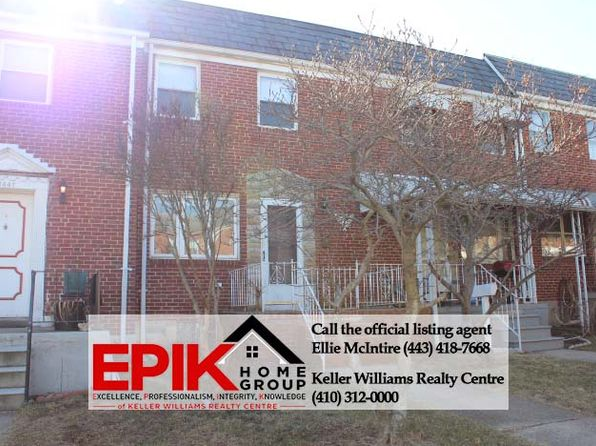 2 bed 2 bath Townhouse at 7845 WYNBROOK RD BALTIMORE, MD, 21224 is for sale at 118k - 1 of 27