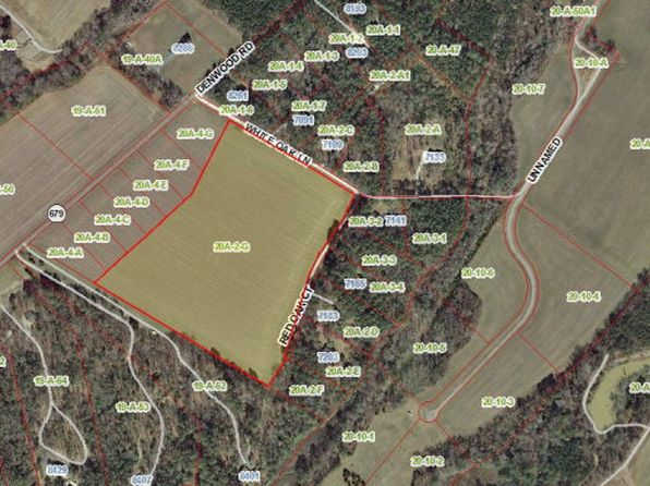 null bed null bath Vacant Land at 00 White Oak Ln Franktown, VA, 23354 is for sale at 89k - google static map