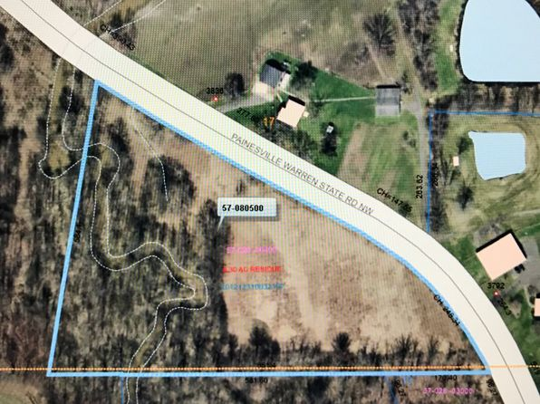 null bed null bath Vacant Land at 3836 Painesville Warren Rd Southington, OH, 44470 is for sale at 40k - google static map